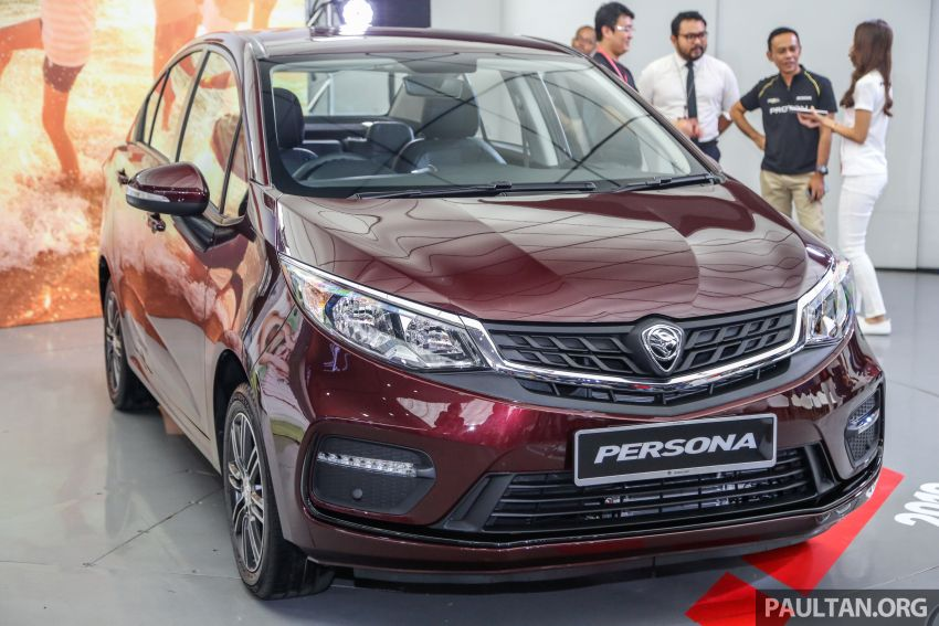 2019 Proton Persona facelift previewed, March launch Image #932328