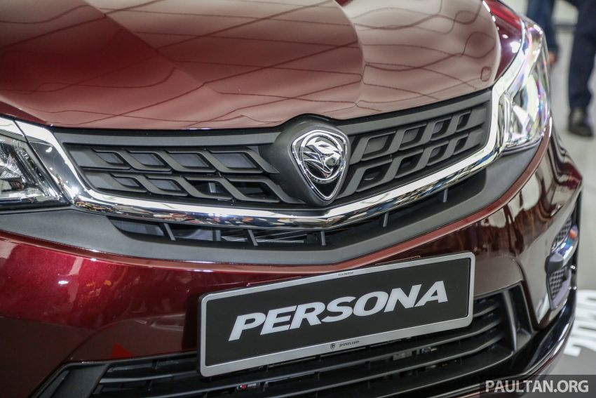 2019 Proton Persona facelift previewed, March launch Image #932337