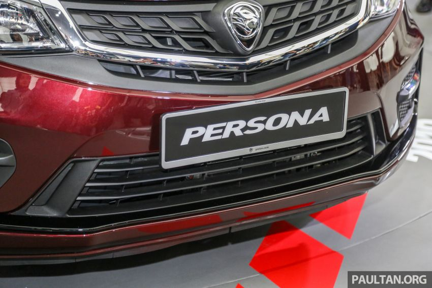 Proton Persona 2019 didedahkan – boleh ditempah esok dengan RM9.90, akan dilancarkan bulan ini Image #932313
