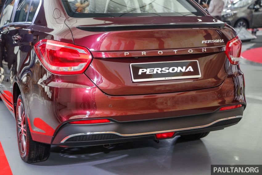 2019 Proton Persona facelift previewed, March launch Image #932350
