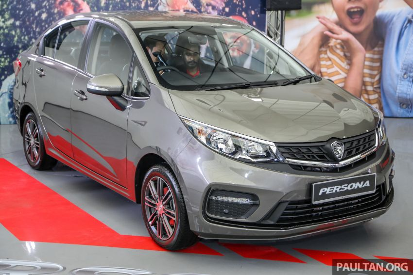 2019 Proton Persona facelift previewed, March launch Image #932369