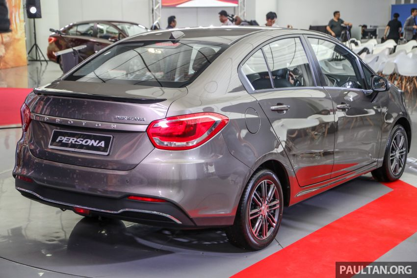 2019 Proton Persona facelift previewed, March launch Image #932371