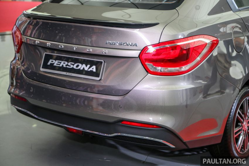2019 Proton Persona facelift previewed, March launch Image #932375
