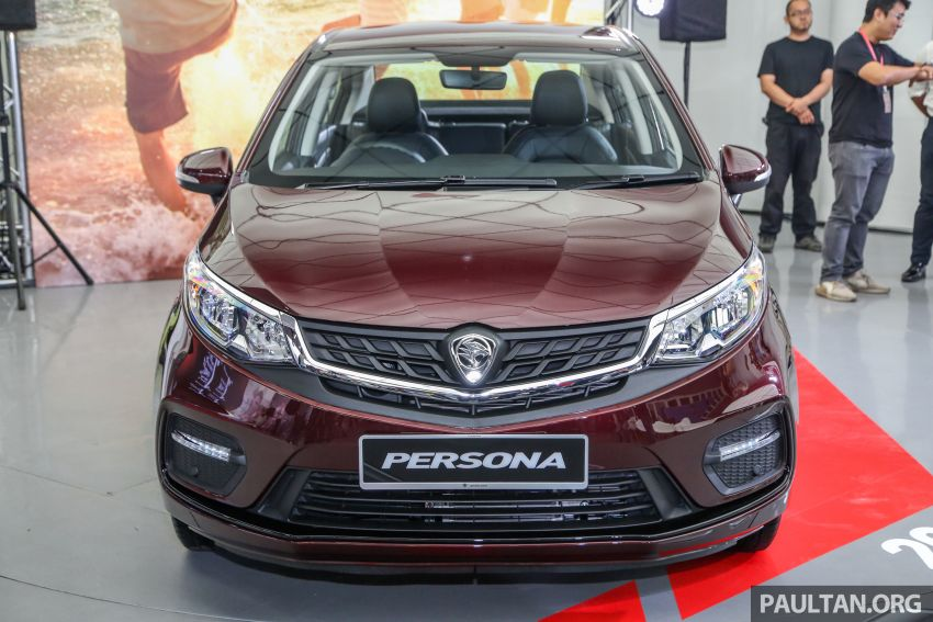 2019 Proton Persona facelift previewed, March launch Image #932331