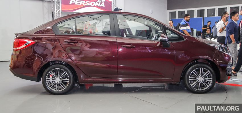 2019 Proton Persona facelift previewed, March launch Image #932332
