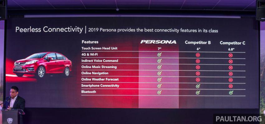 Proton Persona 2019 didedahkan – boleh ditempah esok dengan RM9.90, akan dilancarkan bulan ini Image #932505