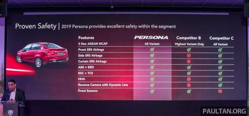 Proton Persona 2019 didedahkan – boleh ditempah esok dengan RM9.90, akan dilancarkan bulan ini Image #932507