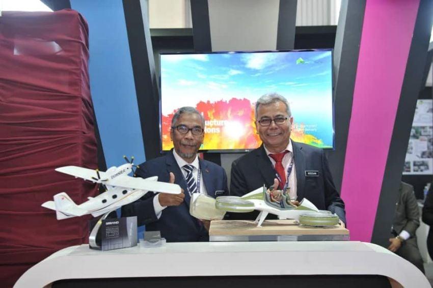 Kereta terbang – 'prototaip' muncul di LIMA 2019? Image #939660