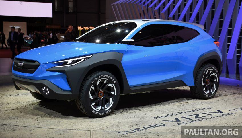 Subaru Viziv Adrenaline concept – to inspire next XV? Image #933102
