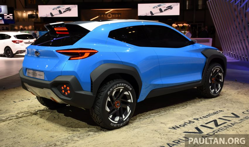 Subaru Viziv Adrenaline concept – to inspire next XV? Image #933104
