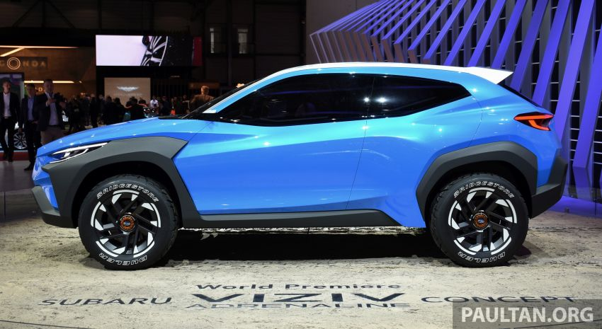 Subaru Viziv Adrenaline concept – to inspire next XV? Image #933109