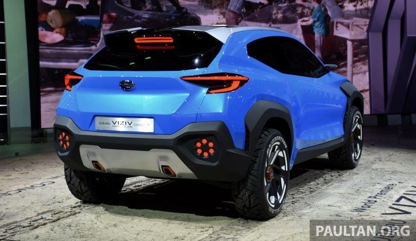Subaru Viziv Adrenaline concept – to inspire next XV? Image #933111