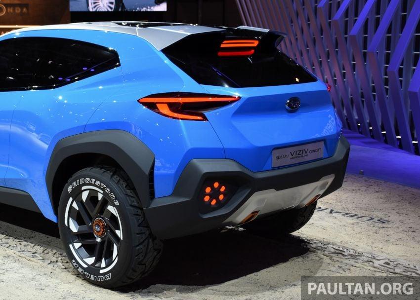 Subaru Viziv Adrenaline concept – to inspire next XV? Image #933112