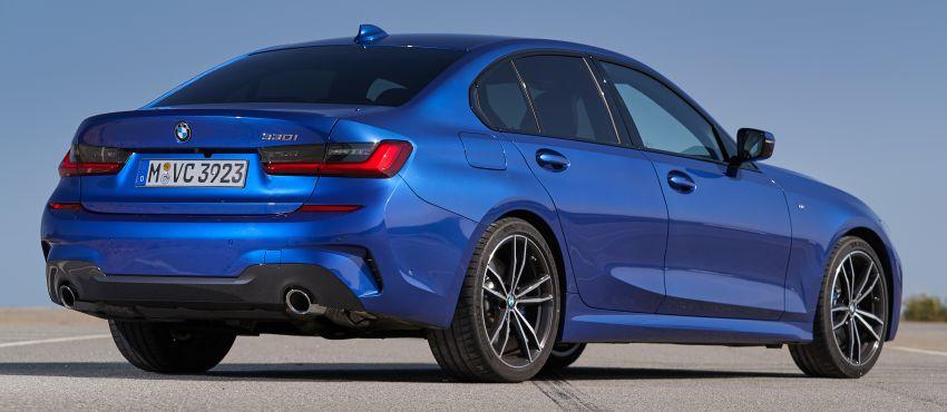 BMW 3 Series G20 dilancarkan di M'sia – 330i M Sport, 2.0L TwinPower, 258 hp/400 Nm, harga RM328,800 Image #939818