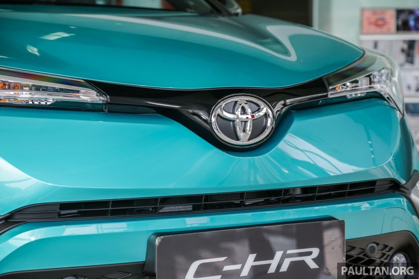 GALLERY: 2019 Toyota C-HR – new wheels, CarPlay Image #928138