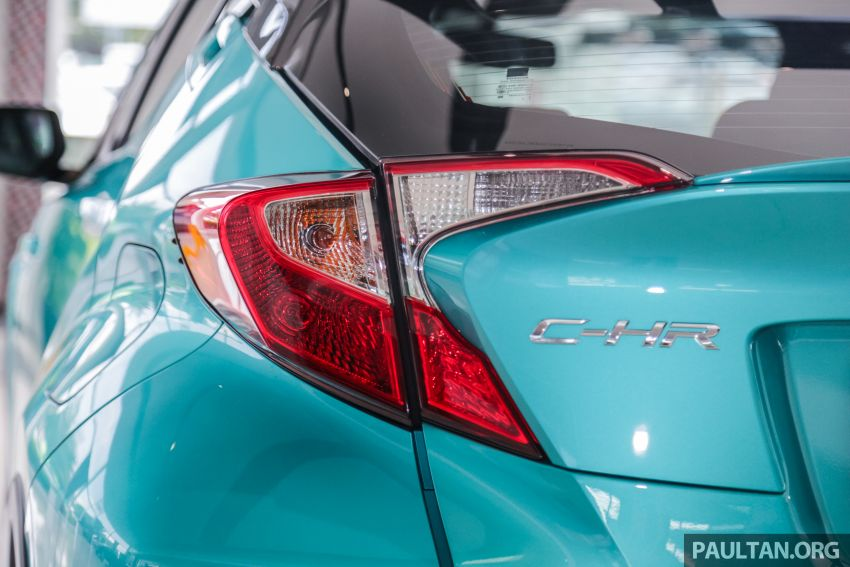 GALLERY: 2019 Toyota C-HR – new wheels, CarPlay Image #928154