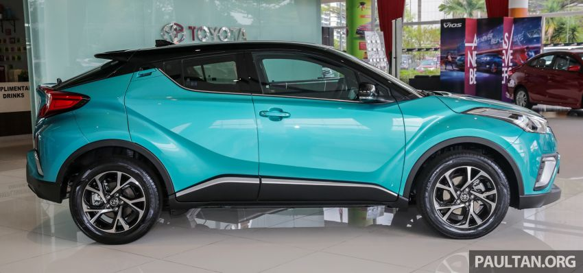 GALLERY: 2019 Toyota C-HR – new wheels, CarPlay Image #928124