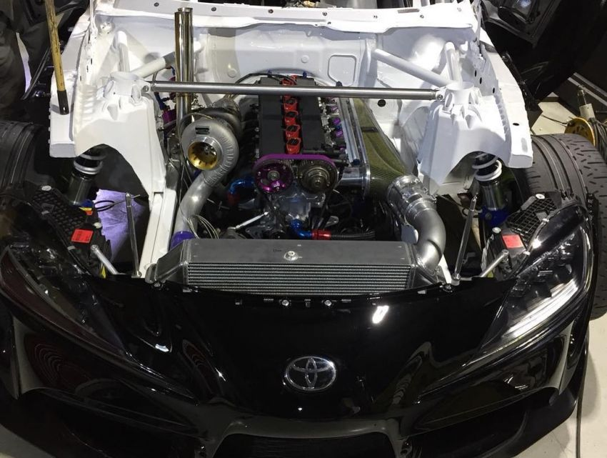 A90 Toyota GR Supra with an 800 hp 2JZ engine is Daigo Saito's new drift car for D1 Grand Prix series Image #934531