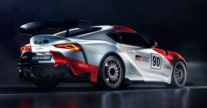 Toyota GR Supra GT4 Concept muncul di Geneva Image #930687