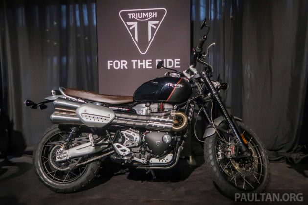 2019 Triumph Scrambler 1200 Xc And Xe Launched In Malaysia Priced