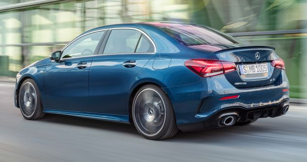 V177 Mercedes Amg A35 4matic Sedan Revealed With 306 Hp And 420