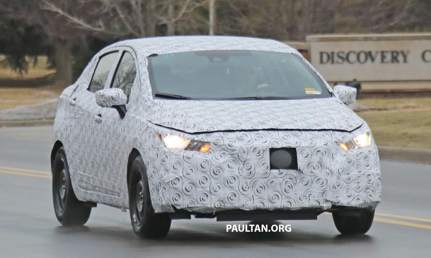 SPYSHOTS: Nissan Versa sedan – next Almera seen? Image #938188