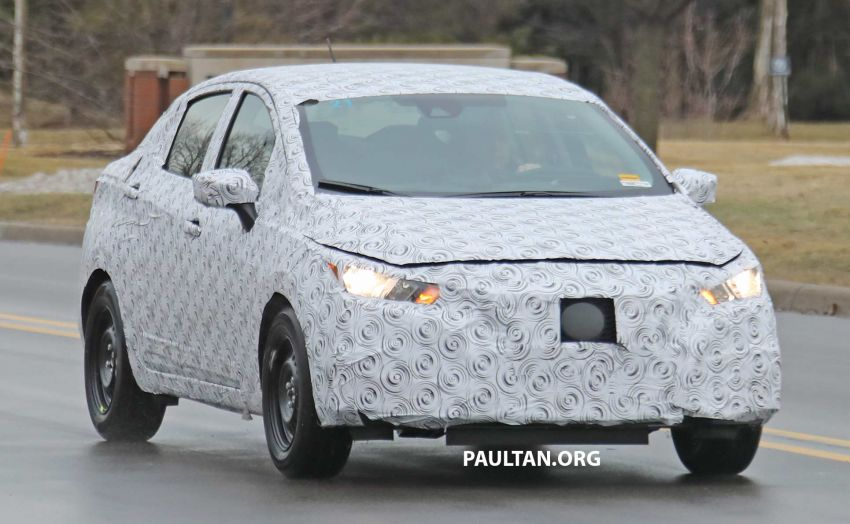 SPYSHOTS: Nissan Versa sedan – next Almera seen? Image #938189
