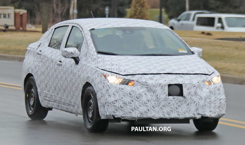 SPYSHOTS: Nissan Versa sedan – next Almera seen? Image #938190