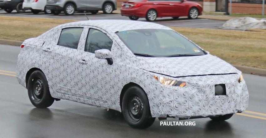 SPYSHOT: Nissan sedang uji Almera generasi baharu? Image #938217