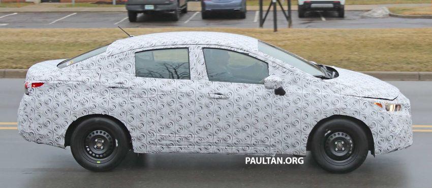 SPYSHOT: Nissan sedang uji Almera generasi baharu? Image #938213