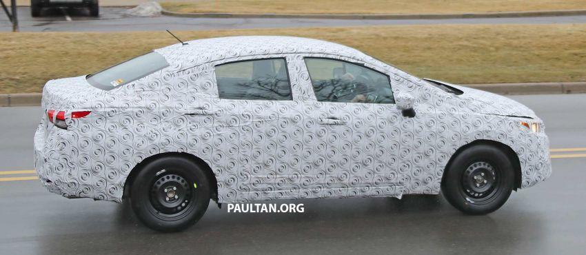 SPYSHOT: Nissan sedang uji Almera generasi baharu? Image #938212