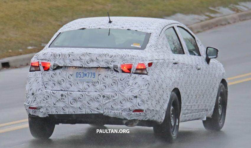 SPYSHOTS: Nissan Versa sedan – next Almera seen? Image #938200