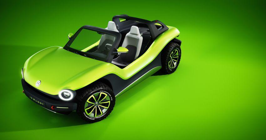 Volkswagen I.D. Buggy bawa konsep santai – dipacu motor elektrik 204 PS, tiada bumbung dan pintu Image #931524