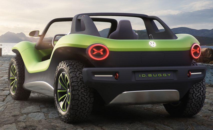 Volkswagen I.D. Buggy bawa konsep santai – dipacu motor elektrik 204 PS, tiada bumbung dan pintu Image #931527