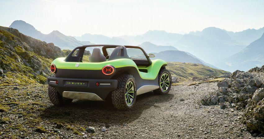 Volkswagen I.D. Buggy bawa konsep santai – dipacu motor elektrik 204 PS, tiada bumbung dan pintu Image #931528