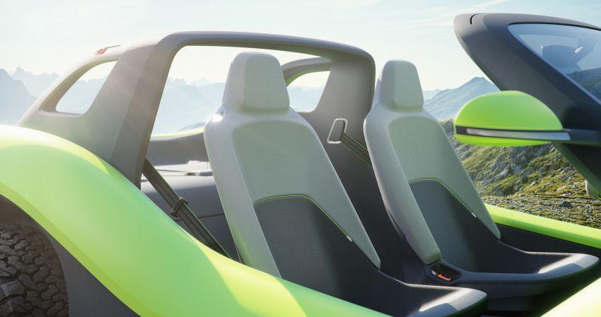 Volkswagen I.D. Buggy bawa konsep santai – dipacu motor elektrik 204 PS, tiada bumbung dan pintu Image #931530