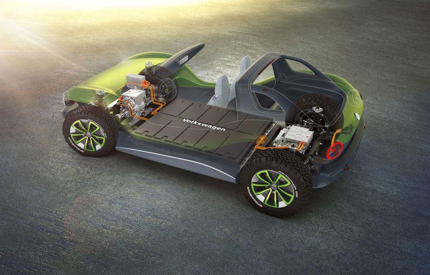 Volkswagen I.D. Buggy bawa konsep santai – dipacu motor elektrik 204 PS, tiada bumbung dan pintu Image #931542