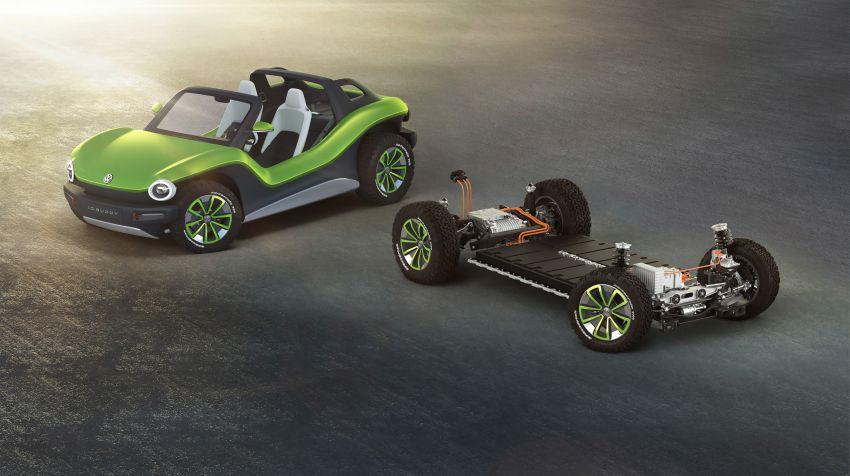 Volkswagen I.D. Buggy bawa konsep santai – dipacu motor elektrik 204 PS, tiada bumbung dan pintu Image #931543