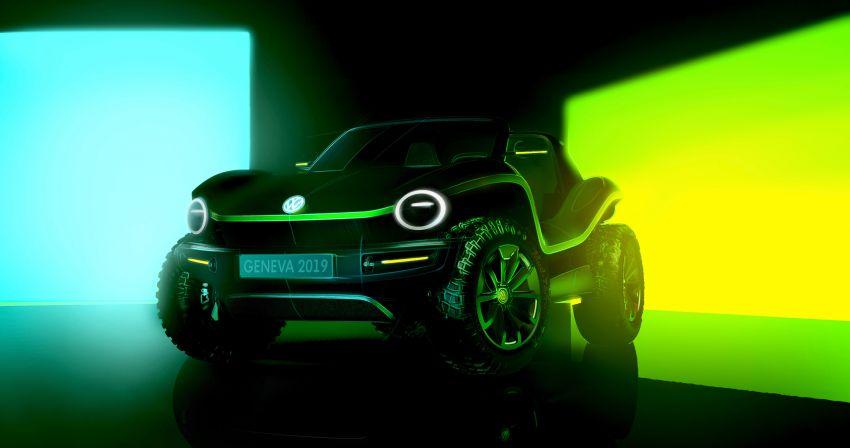 Volkswagen I.D. Buggy bawa konsep santai – dipacu motor elektrik 204 PS, tiada bumbung dan pintu Image #931512