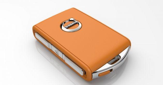 volvo s90 manual key