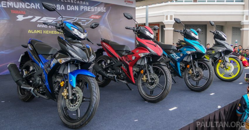 2019 Yamaha Y15ZR shown in Malaysia – price in April Image #937998