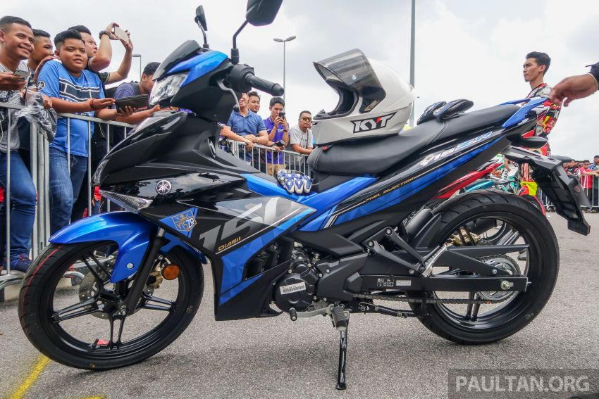 2019 Yamaha Y15ZR shown in Malaysia – price in April Image #938007