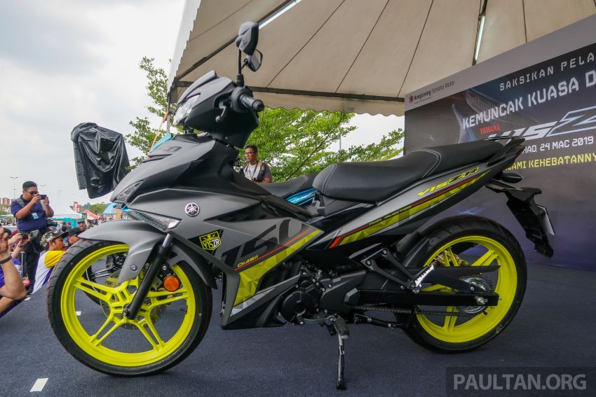 2019 Yamaha Y15ZR shown in Malaysia – price in April Image #938008