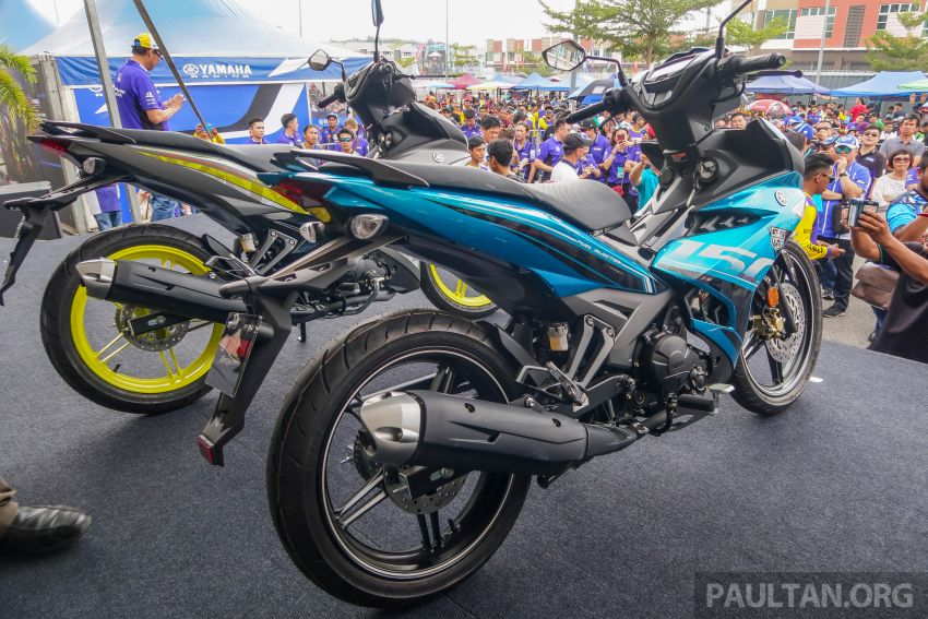 2019 Yamaha Y15ZR shown in Malaysia – price in April Image #938009