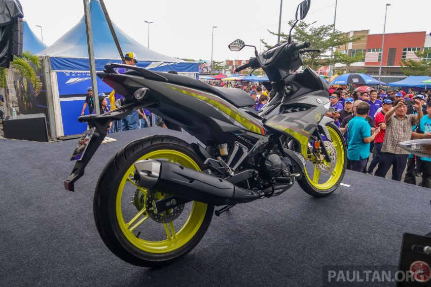 2019 Yamaha Y15ZR shown in Malaysia – price in April Image #938010