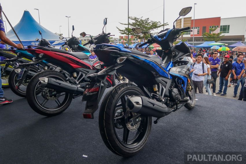 2019 Yamaha Y15ZR shown in Malaysia – price in April Image #938012