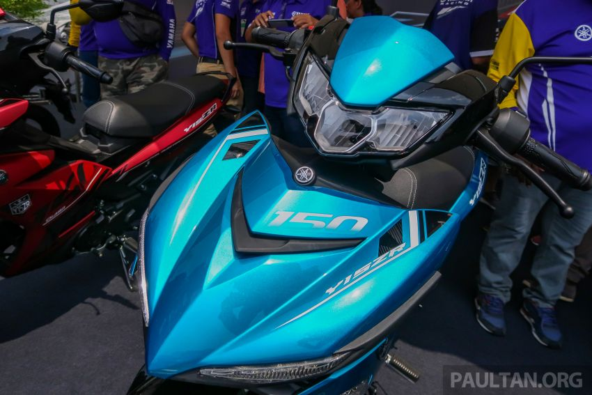 2019 Yamaha Y15ZR shown in Malaysia – price in April Image #938014