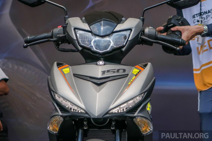 2019 Yamaha Y15ZR shown in Malaysia – price in April Image #938016