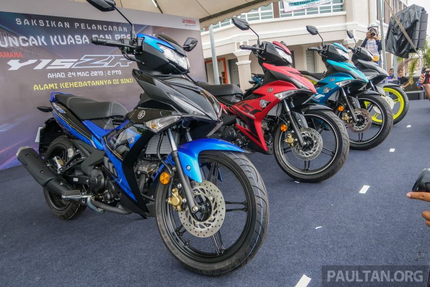 2019 Yamaha Y15ZR shown in Malaysia – price in April Image #937999