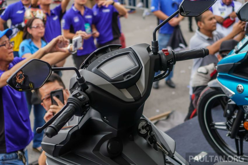 2019 Yamaha Y15ZR shown in Malaysia – price in April Image #938017